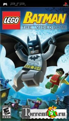 LEGO Batman: The Videogame (RUS/ISO/PSP)