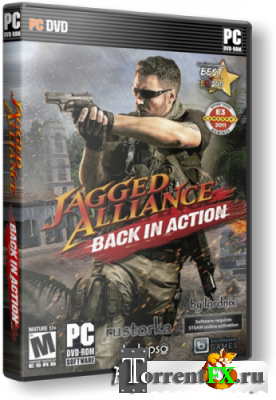 Jagged Alliance: Back in Action [v1.03 + 4 DLC] (2012) PC | RePack от UltraISO