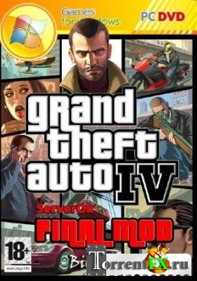 GTA 4 / Grand Theft Auto IV - Final mod (2011) PC | RePack