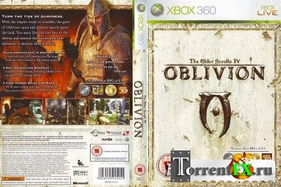 [JTAG/FULL]The Elder Scrolls IV: Oblivion + DLC 1C [Region Free/RUSSOUND] (2006) XBOX360