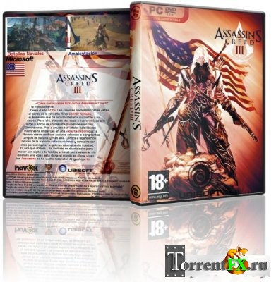 Assassin's Creed 3 - Ultimate Edition [v 1.03] (2012) PC | Rip от R.G. Revenants