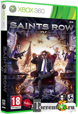 Saints Row 4 (2013) XBOX360