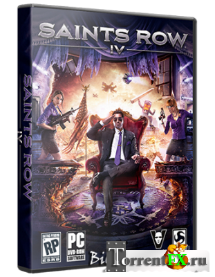 Saints Row 4: Commander-in-Chief Edition + Season Pass DLC (2013) РС | RePack от Black Beard
