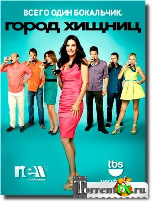 ����� ������ / Cougar Town 5 ����� 1-8 ����� (2014) WEB-DLRip | NewStudio