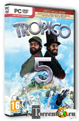 Tropico 5 [v 1.04 + 2 DLC] (2014) PC | Steam-Rip от R.G. Steamgames