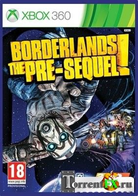 Borderlands: The Pre-Sequel! [Region Free] [ENG] [LT+ 2.0] (2014) XBOX360