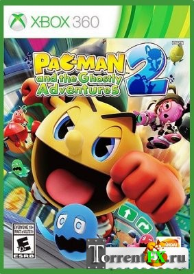 Pac-Man And The Ghostly Adventures 2 [Region Free] [ENG] (2014) XBOX360